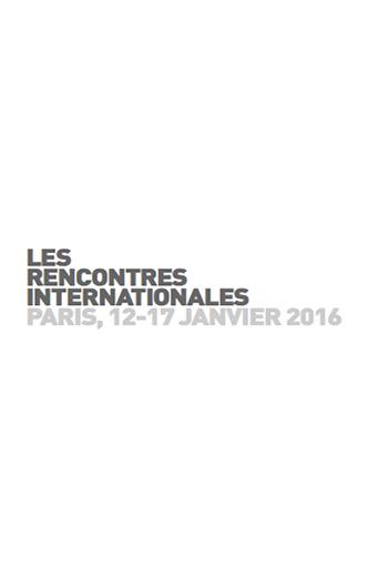 Rencontres internationales paris 2018